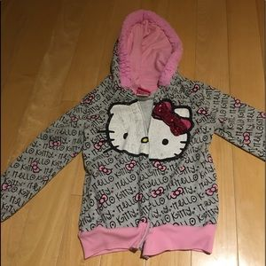 Girl's hello kitty hoodie